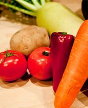 食物繊維、野菜をよくとりましょう